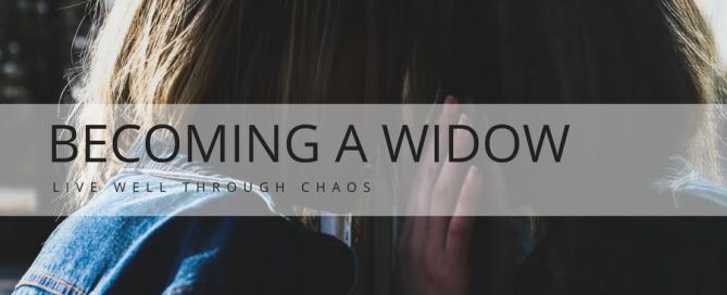 Becoming a widow - Lorri Weisen