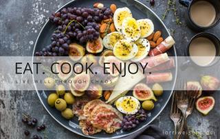 healthy eat cook enjoy