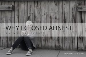 CLOSED ahnesti haircare
