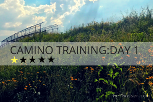 Camino training day one