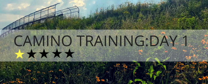 Camino training day one
