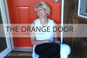 The Orange Door - Lorri Weisen