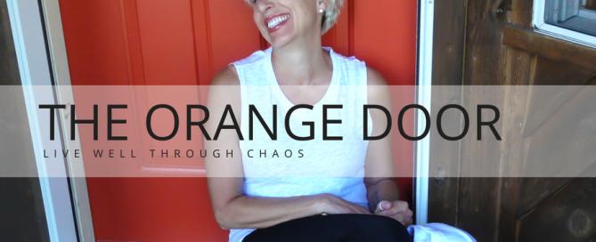 The Orange Door - Lorri Weisen