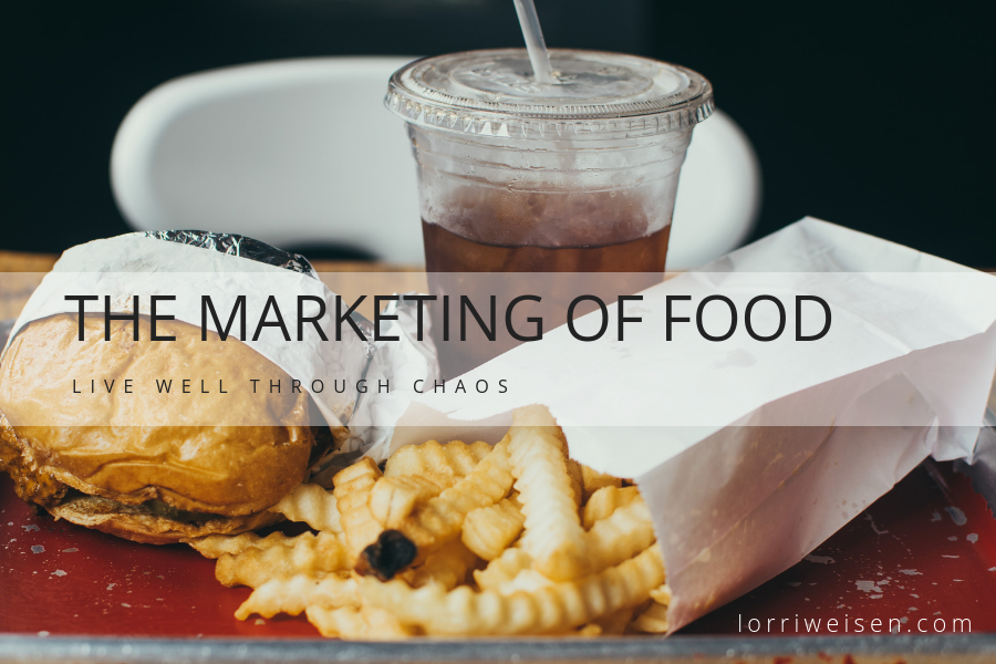 The marketing of food