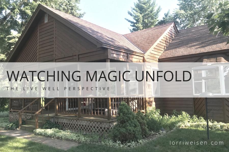 Watching Magic Unfold - www.lorriweisen.com