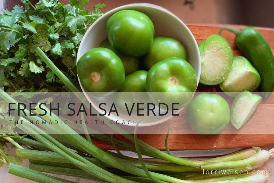 Fresh Salsa Verde