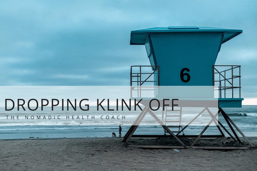 Dropping Klink Off In Oceanside