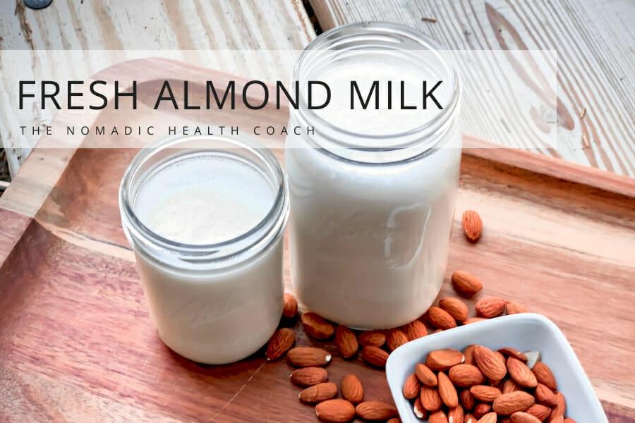 Fresh Almond Milk