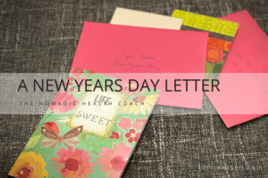 new years letter